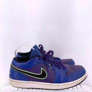Nike Air Jordan 1 Retro Low Game Royal Lime 11.5